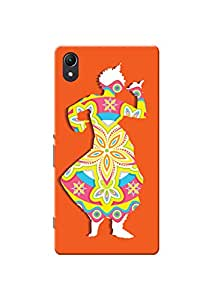 Sony Xperia Z2 Cover Kanvas Cases Premium Quality Designer 3D Printed Lightweight Slim Matte Finish Hard Back Case for Sony Xperia Z2