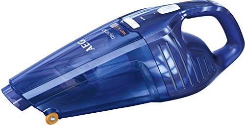 Rapido AG5104WDB Akkusauger (beutellos, Handstaubsauger mit 4,8 V umweltfreundlichen Ni-MH Akku, Nass und Trocken, Filter und Wasserfalle) blau