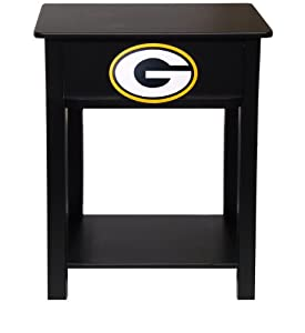 NFL End Table NFL Team: Green Bay Packers by Fan Creations