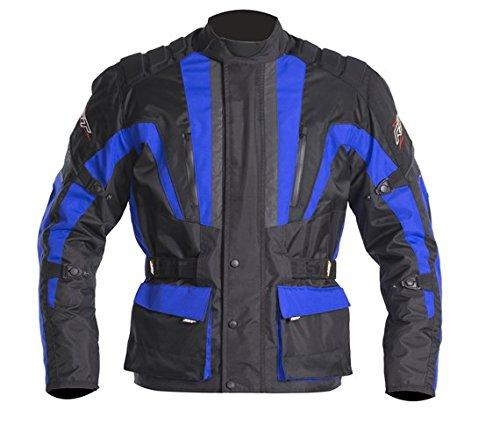 Nouvelle RST Tour Master 1326 Textile bleu moto Jacket