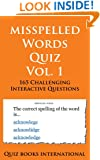 Misspelled Words Quiz