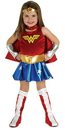 Super DC Heroes Wonder Woman Toddler Costume