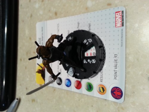 Marvel Heroclix Amazing Spider-Man Blade gravity feed