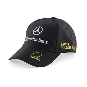 2014 Official Mercedes AMG F1 Puma Lewis Hamilton Cap Black
