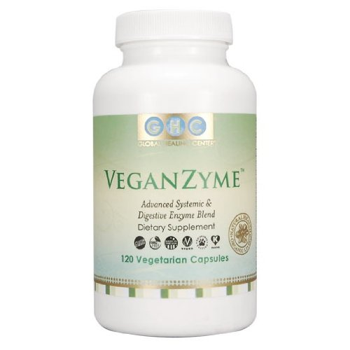 VeganZyme ~ 100% Vegan Systemic & Digestive Enzymes Blend