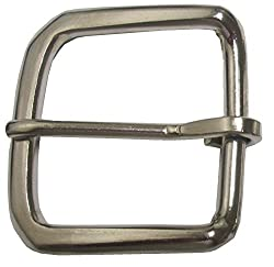 Single Prong Belt Buckle Fits Belts Up to 1 1/2