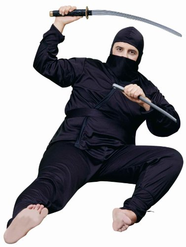 Forum Novelties Men's Plus-Size Plus Size Adult Ninja Costume