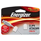 Energizer Magnetic Cable Clips - White (MAGW)