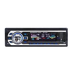 AUX USB CD Player Bluetooth Handfree Car Radio Hifi Speaker Set FM Transmitter