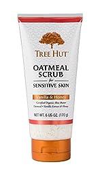 Tree Hut Oatmeal Scrub, Vanilla And Honey, 6 Ounce