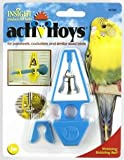 JW Pet Company Insight Activitoy Wobbling Bobbling Bell Bird Toy