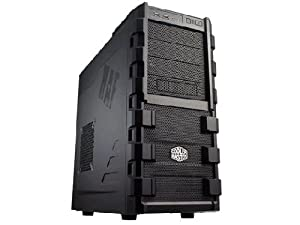 Cooler Master HAF 912 - Mid Tower Computer Case with High Airflow Design (RC-912-KKN1)
