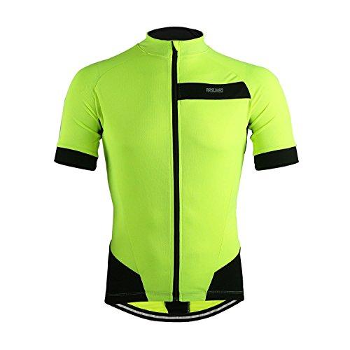MBaxter-Sommer-Fahrradbekleidung-Herren-Fahrradtrikot-Kurzarm-Sportbekleidung-Full-zip-Radsport-Jersey-Team-Shirt-Fitness