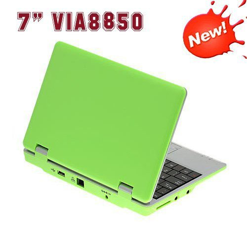 7inch écran Netbook Tablet PC WM 8850 1.2GHz DDR Android 4.0 caméra WIFI – Vert By Mancebase