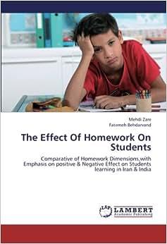 Homework effects on children