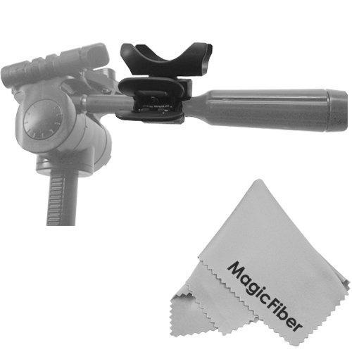 Camera Timer Remote Control Holder For Tripod Mount + Magicfiber Microfiber Lens Cleaning Cloth