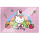 Hello Kitty Plastic Placemat ハローキティプラスチック製のランチョンマット♪ハロウィン♪クリスマス♪
