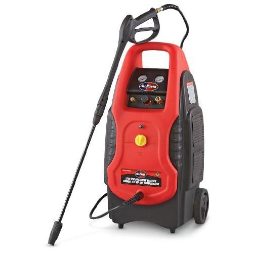 in - 1 Combo Pressure Washer / Air Compressor - - Amazon.com