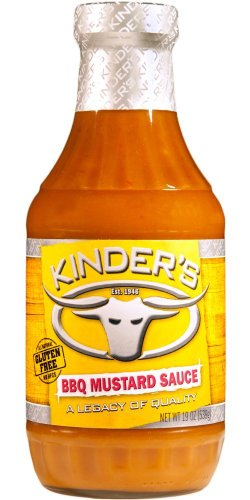 (Pack Of 2) Gluten Free Kinder'S BBQ Mustard Sauce