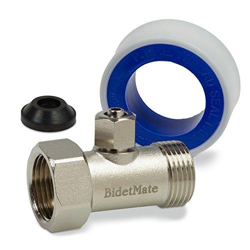 Bidet spray with adapter storeiadore