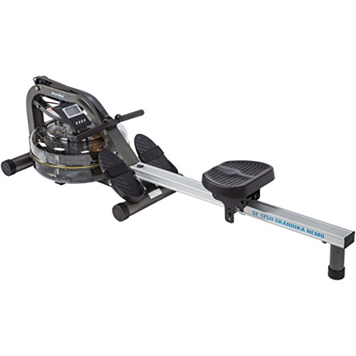 Skandika Nemo Aqua Rower Liquid Rowing Machine with Adjustable Resistance & LCD...