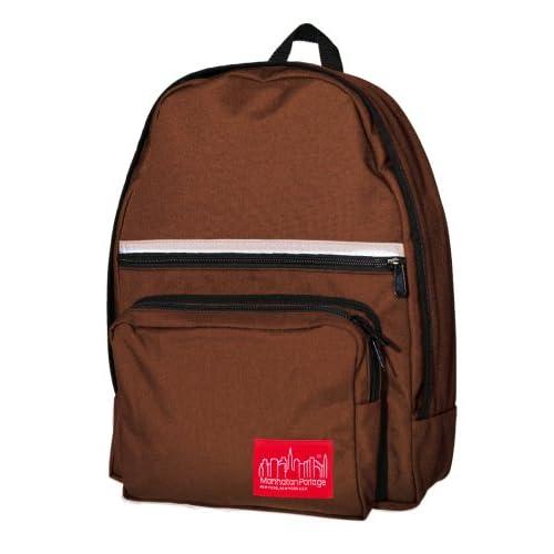 Manhattan Portage Laptop Backpack - Dark Brown