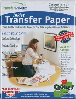 Transfer Magic Ink Jet Transfer Paper 8 1/2