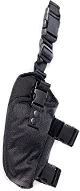 Ultimate Arms Gear Tactical New Generation Stealth Black Drop Leg Para Ordinance Pistol/Gun Holster + Magazine Pouch
