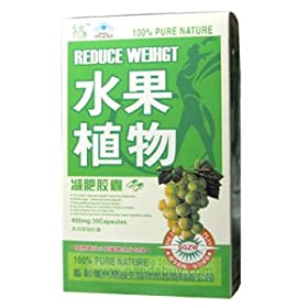 Fruit & Plant Weight Loss by Fruit & Plant Weight Loss - 30 Capsules