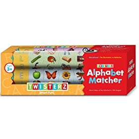 Twisterz Toys Alphabet Matcher: Toys & Games