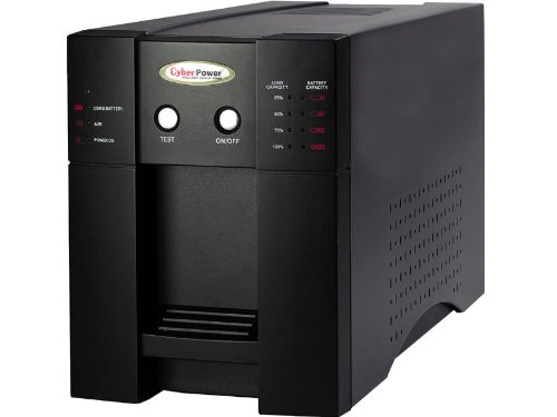 Cyberpower PP2200SW UPS - 2200VA/1500W PureSine AVR Boost/Buck 8-Outlet RJ11/RJ45 Tower EMI/RFI USB (Discontinued by Manufacturer)