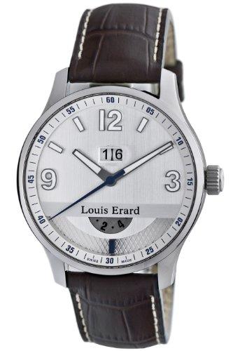 Louis Erard Men's 82224AA01.BDC52 1931 GMT Automatic Watch