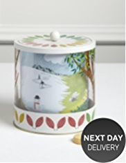 Four Seasons Biscuit Tin with Mini Shortbread