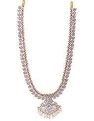 Preethi Gold Plated Gold Metal Chain Necklace For Women (Preethi_25)