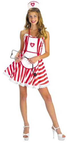 Adult and Teen Handy Candy Nurse Costume
