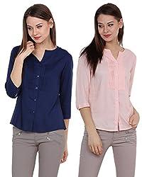 Rasada Women'S Pintuck Shirt Combos