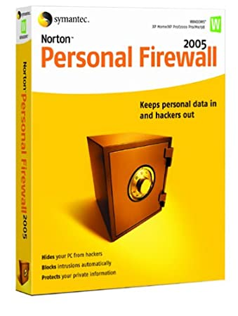 Norton Personal Firewall 2005 - Single User