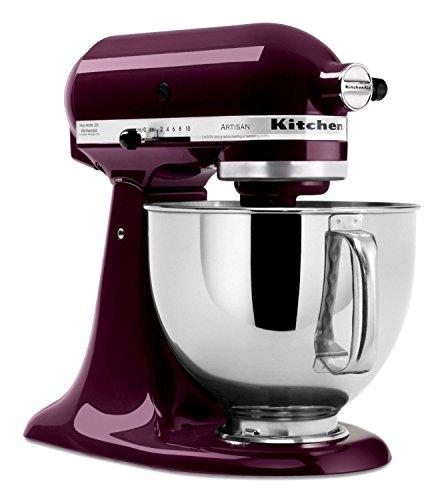 Sale!! KitchenAid RRK150PB 5 Qt. Artisan Series - Plumberry (Certified Refurbished)