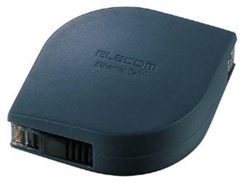 ELECOM 携帯用LANケーブル(ブラック)2m LD-MCTF/BK2