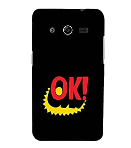 Ok Design 3D Hard Polycarbonate Designer Back Case Cover for Samsung Galaxy Core 2 G355H :: Samsung Galaxy Core II :: Samsung Galaxy Core 2 Dual