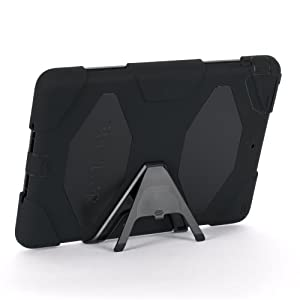 Apple IPad Air Griffin Survivor Case, Black, Black, And Black, Retail Packaged (GB36307)