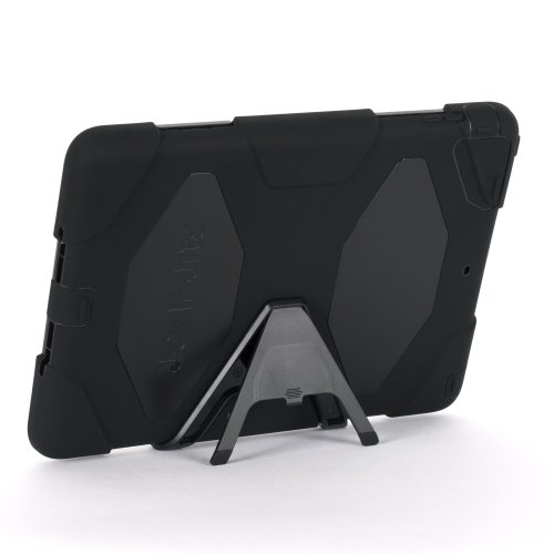 Apple IPad Air Griffin Survivor Case, Black, Black, And Black, Retail Packaged (GB36307) (Griffin Ipad Cover compare prices)