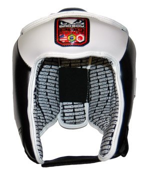 Bad Boy Men's Open Face Head Guard - Black, X-Large