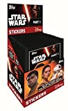 2016 Topps Star Wars The Force Awakens MASSIVE Factory Sealed Sticker Box with 50 Packs & 250 Stickers! Collect all 292 Stickers in the Collection include Foil Stickers of the Blockbuster Movie !
