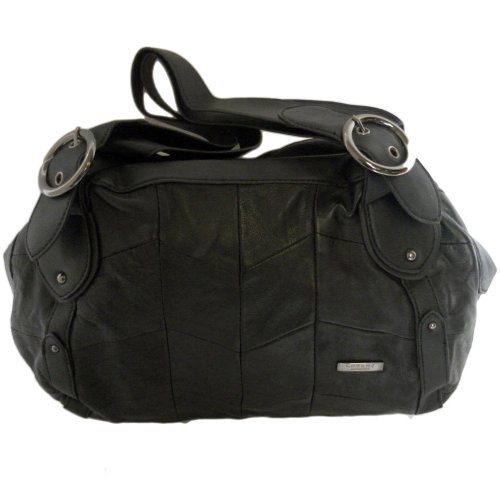 LEATHER & MANMADE FASHION SHOULDER BAG