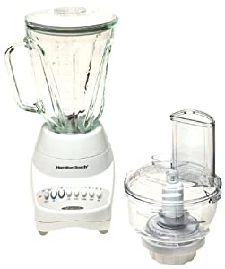 Hamilton Beach 52254 12-Speed Blender with Food Processor Attachment