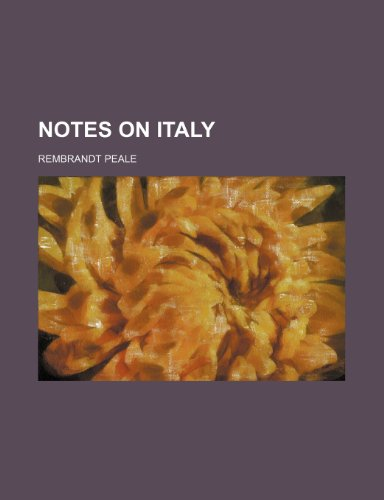 Notes on Italy