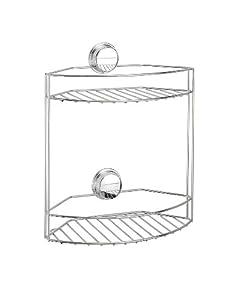 Better Living Products Twist N Lock Plus 2-Tier Basket for Bathroom