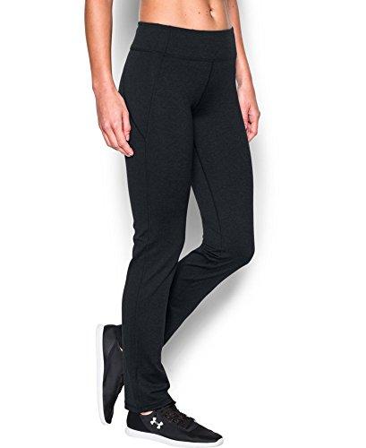 Under Armour Women's Mirror Straight Leg Pant, Asphalt Heather (005), Small