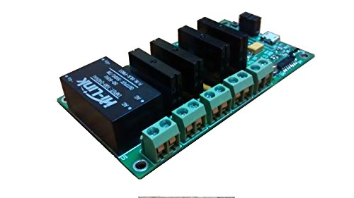 Wifi Esp8266 Four Solid State Relay Board based on NodeMCU LUA for IoT and Home Automation